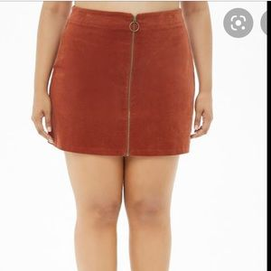 Brand New with Tags Forever 21 Corduroy Skirt